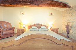 Le Gargantua   Grangousier Bedroom   Double Bed