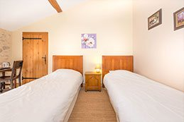 Le Gargantua   Pantagruel Bedroom   Twin Beds