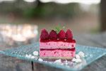 Le Gargantua | French Patisserie | Raspberry Bavarois
