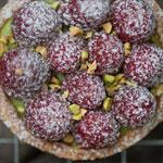 Le Gargantua | French Patisserie | Raspberry & Pistachio Tart